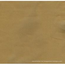 100% tela de sarga de algodón orgánico sólido (QDFAB-8646)
