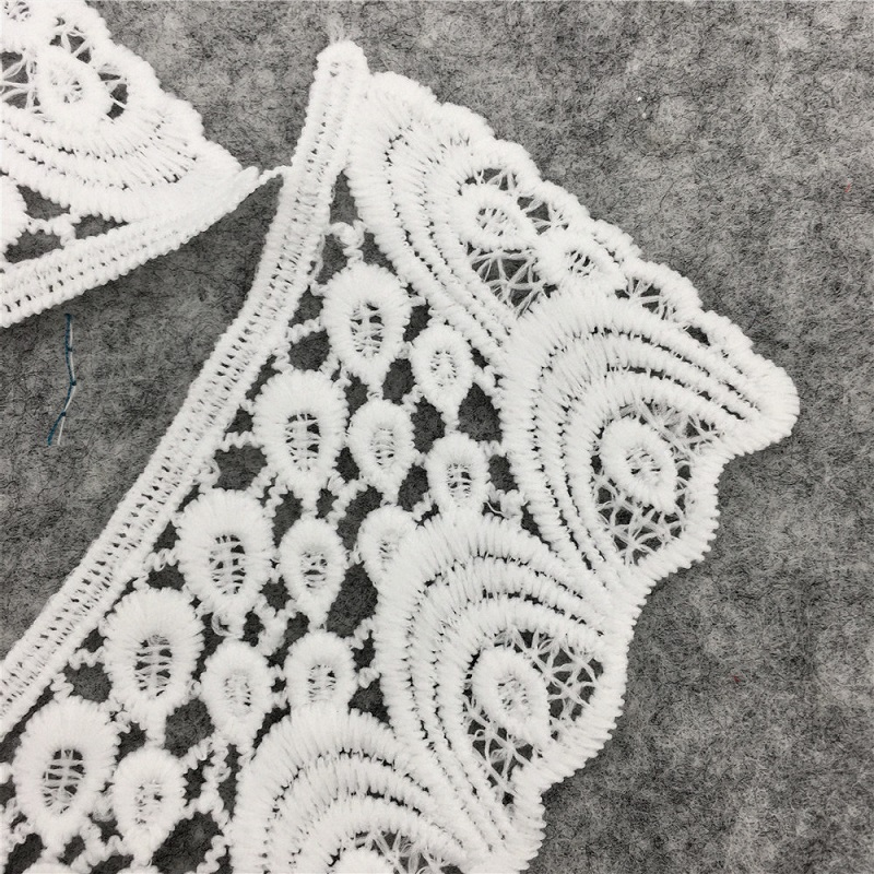 White Flower Lace Patch