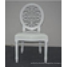 2015 gloss white louis chair XYN1221