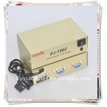 1 PC PORT VGA SVGA XGA à 2 moniteurs Video Splitter Box