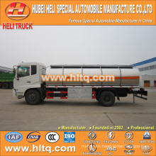 Dongfeng Tianjin 4x2 13CBM liquid chemical transport truck for sale , china factory supply