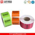 Manufacturer Custom Vinyl Adhesvie Waterproof Custom Label