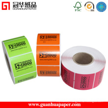 Digital Printer Type and Digital Plate Type Sticker Label