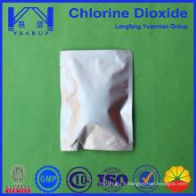 Gel à poudre de dioxyde de chlore pour désinfectant spatial