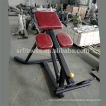 Banc d'extension de dos d'équipement de gymnastique Commerical