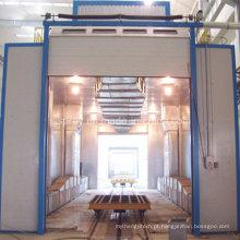 Cabine popular da pintura de pulverizador para o motor diesel