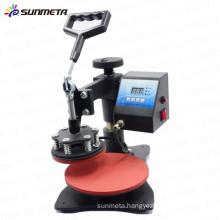 Sunmeta mini plate heat press printing machine transfer machine, sublimation machine