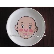 KC-00295/ceramic tableware dinner set/kid face design