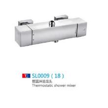 Wasserfall Thermostat Wasser sparen Dusche Mischer Set mit Zubehör