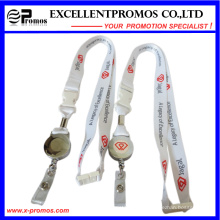 Lanyard with Customized Logo and Badge Reel (EP-Y581414)