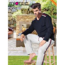 Miorre мужские пижамы пижамы набор 100% хлопок