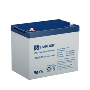 12V DG12-75 VRLA Deep Cycle GEL Batterie