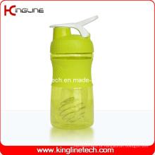 500 ml de garrafa de agitação de bolinha de plástico com bola de mistura de misturador de aço inoxidável (KL-7064)