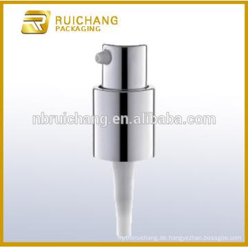 Aluminium-Lotionspumpe / 16mm Aluminium-Creme-Pumpe