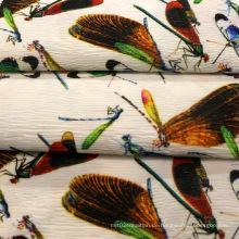 Drucken Crepe Polyester Stoff für Kleidungsstück / Mantel