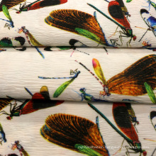 Printing Crepe Polyester Fabric for Garment/Coat