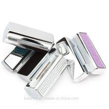 Custom Wholesale Boîte à lèvres en métal de haute qualité avec miroir