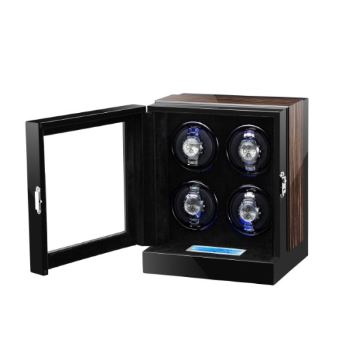 Automatic Watch Winder 4 slot Tampilan mekanis