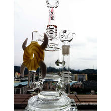 13inch 6mm dickes handgeblasenes Glasrohr