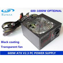600W Série de ventilateurs de 12 cm ATX alimentation d'ordinateur Alimentation PC SMPS