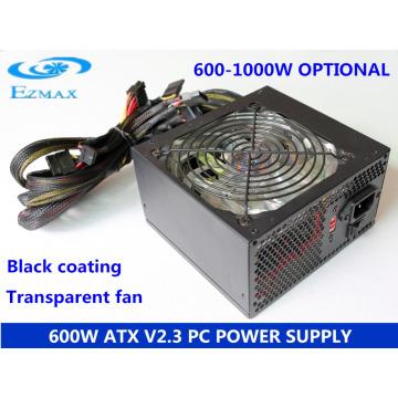 600W Série de fãs de 12 cm ATX fonte de alimentação do computador PC Fonte de alimentação SMPS