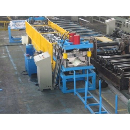 Hydraulic Ridge Cap Roof Tile Roll Forming Machine