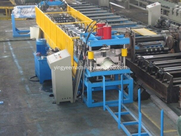 Ridge cap tile roll forming machine