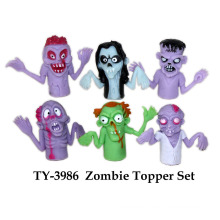 Funny Halloween Zombie Topper Set Toy