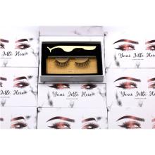 5D05 Custom Box Premium 5d Silk Faux Mink Lashes square eyelash packaging box
