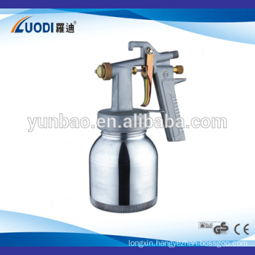 Plating polyurethane spray gun