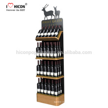 Along With The Collaborative Relationship With Our Clients Retail Shop Liquor Bottle Display Shelf