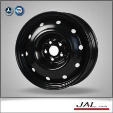 16 pulgadas de diseño de moda rueda de la rueda de las ruedas negras con 5 Lug