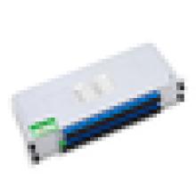 Divisor do PLC 1x32 com comprimento do pigtail 1.5m Fibra de G.657A, 1 * 32 LGX Caixa PLC Splitter Caixa de metal de 2U LGX