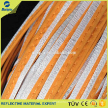 Color Reflective Piping for clothing bags