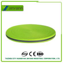 Correas de cinta reflectante de alta visibilidad amarillo fluorescente para la ropa