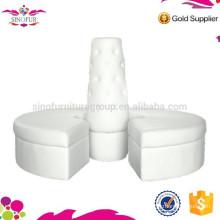 New Degsin Qingdao Sinofur Customizable round leather sofa