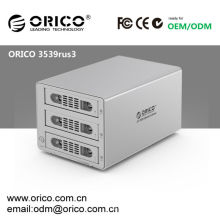 "ORICO 3539RUS3 RAID USB 3.0 + eSATA, 3bay, 3.5 ""SATA HDD boîtier externe 6Tb"