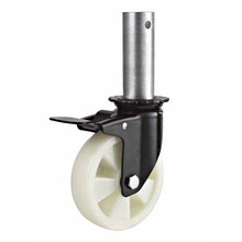 Roues à roulettes à rouleaux à tige filetée PP Med-Heavy Duty (KMHX5-1-MH2)