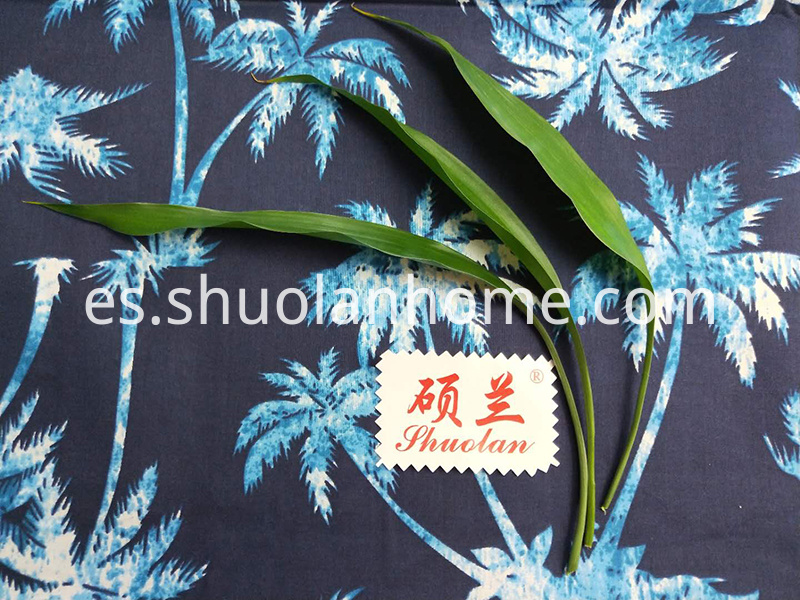 Coconut Tree Pattern Fabric