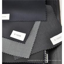 Tecido de sarja w70p30 trabalhada para uniforme de fato em alta qualidade