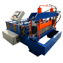 xn roofing floor deck roll forming machine/color steel curving roofing tile making machinery/curving sheet making equipment