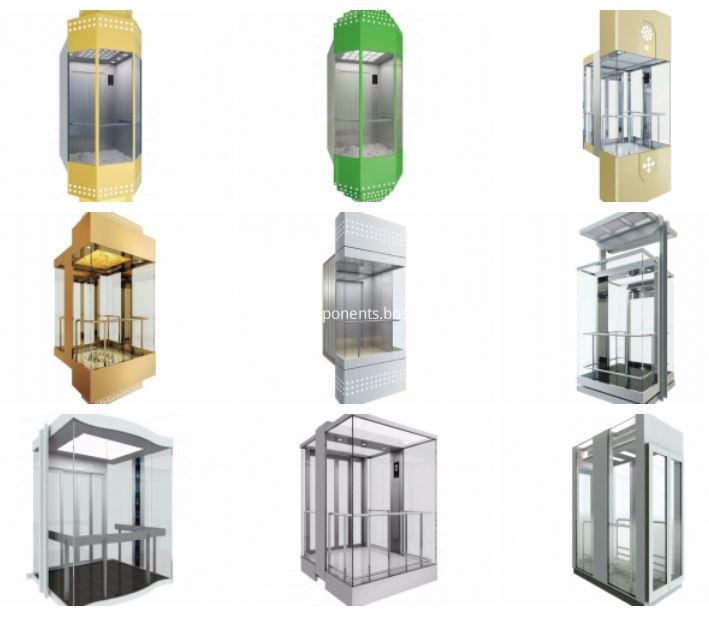 Panoramic Elevator Cabin Modernization
