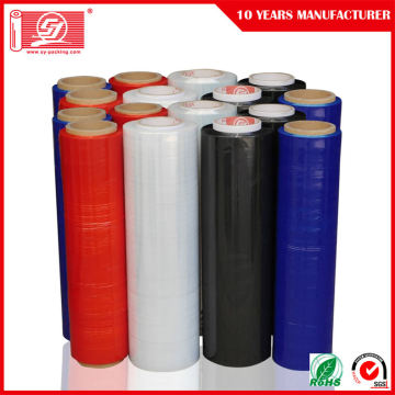 فيلم LLDPE Black Stretch Film Roll Pallet