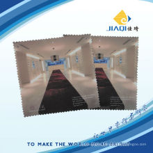 Full color printing microfiber cleaning cloth