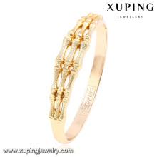 51504 brazalete de aleación con forma de hueso elegante Xuping mujeres para niñas