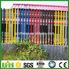 Alibaba fabrique une clôture en acier enrobée à la main en palette en palette