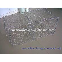 Anping weaving Galvanized gabion basket price