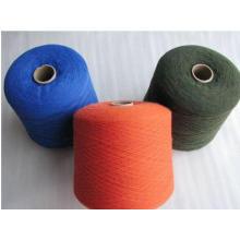 Nm2 / 26 100% puro hilado de lana de cachemira al por mayor en la fábrica de China
