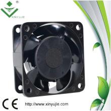 115V / 230V Metail Frame 60mm 6030b Pequeño AC Fan