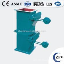 heavy hammer air lock flap cinder industrial valve